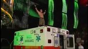 John Cena Aa Kane on top of the Ambulance