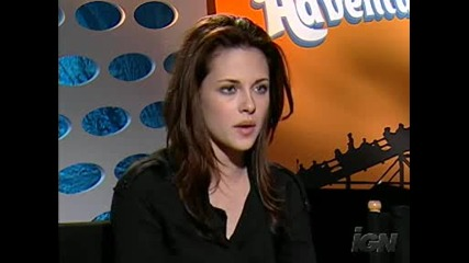 Shooting New Moon - What thinks Kristen