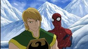 Ultimate Spider-man - 2x13 - Journey of the Iron Fist