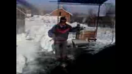 feim patrona igrae ku4ek v snega