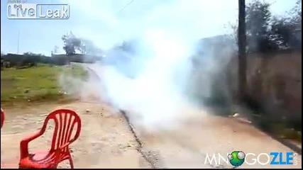 Израелски полицай позравяват палестинци