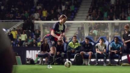 Най-големите звезди на футбола в реклама на Nike