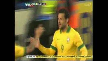 Бразилия и Русия не се победиха в контрола в Лондон – 1:1