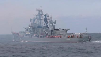 Russia: Russian destroyer Smetlivy departs for bilateral festival in Greece