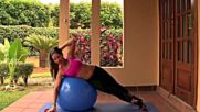 Total body with stability ball