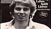 Andy Andres – Leben Heißt Lieben 1980 cover
