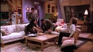 Friends / Приятели - Сезон 1 Епизод 17 - Bg Audio - | Част 2/2 |