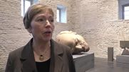 Germany: Historic Lenin head statue from GDR on display at Spandau Museum