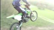 Kawasaki Kx 250 в гората - част 1