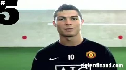Cristiano Ronaldo Freestyle Football Skills