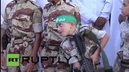 State of Palestine: Al-Qassam Brigades parade remembers three killed leaders