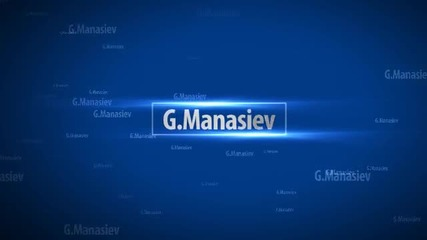 G.manasiev productions. Coming soon...