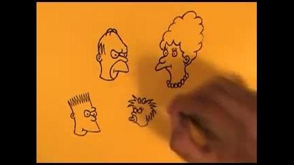 Рисуване на Семейство Симпсън (1987)