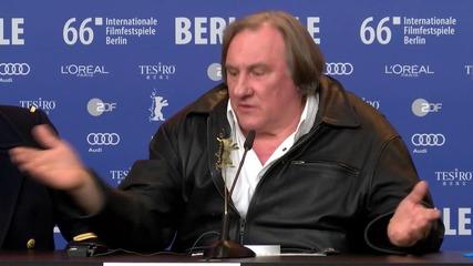 Germany: Gerard Depardieu praises Putin and Russian people at Berlinale