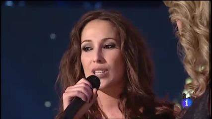Malu - Blanco y Negro - Directo en Destino Eurovision