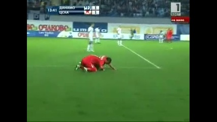 Dynamo Moscow - Cska Sofia 1 - 2