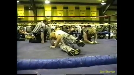 The Sandman vs. Axl Rotten - Ecw Just Another Night 1996