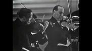 Yehudi Menuhin and David Oistrakh play Bach Double Concerto for Violins