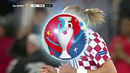 26.06.16 Хърватия - Португалия 0:1 * Евро 2016 *