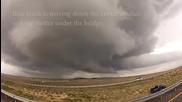 Торнадо в Ню Мексико 8.6.2014