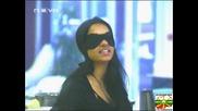 Цветан И Таня Недоволни От Мисия Слепец - Big Brother 4 - 1 11 2008