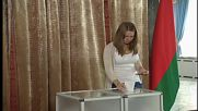 Belarus: President Lukashenko casts vote in parliamentary elections