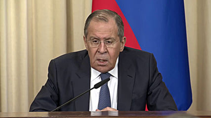 Russia: 'Hope that prudence will prevail' – Lavrov on Trump's warning to Venezuelan military