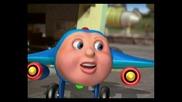Джей Джей самолетчето-трите малки самолетчета(бг аудио)