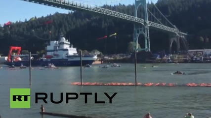 USA: Protest fails to prevent Shell icebreaker from heading to Arctic