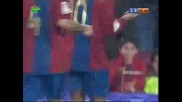 Barcelona - Santander 1:0 Ronaldinho Goal