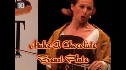 10-те най - странни неща които можеш да правиш с шоколад