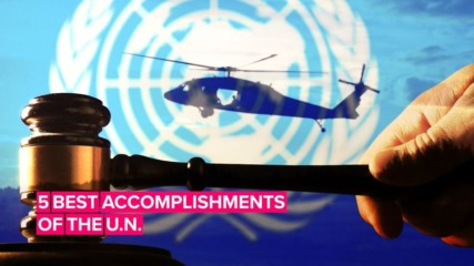 A look back at the best accomplishments of the United Nations