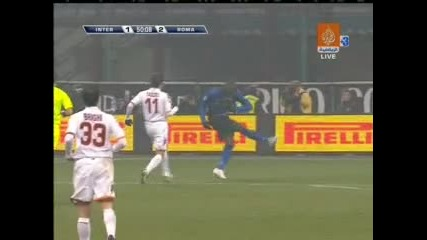 01.03 Интер - Рома 3:3 Марио Балотели Гол
