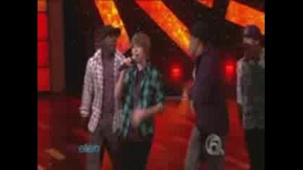[hd] Justin Bieber - One Time (live At Ellen Show 11 03 2009