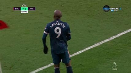 Арсенал поведе срещу Шефилд