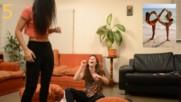Yoga challenge _ Justcamille ft Vicki Vignale