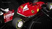 Жабарите показаха колата си за сезон 2014 F14 T