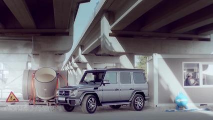 Mercedes-benz G-class Parking