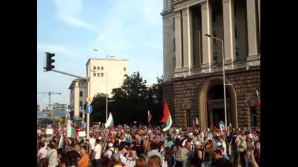 Дансwithme Протест - 04.07.2013 година