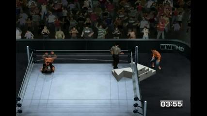 Raw vs Smackdown 2011 - Randy Orton vs John Cena |iron Man match| Част 2