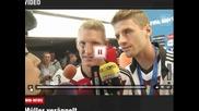 Нападателя на Германия Томас Мюлер ругае в интервю след финала на Мондиала