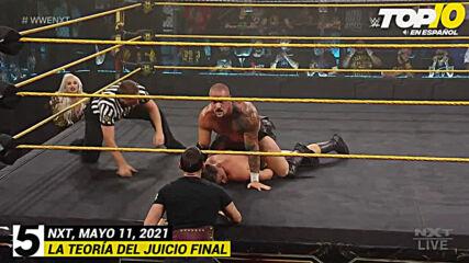Top 10 Mejores Momentos de NXT: WWE Top 10, May 11, 2021