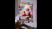 Восъчната фигура на Джъстин Бийбър в Германия и нещата ми на Джъстин :)