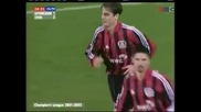 Първи гол на Бербатов в групите на Шампионска лига