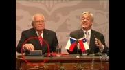 Чешкият президент открадна протоколна писалка по време на визита в Чили