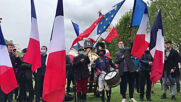 France: Napoleon enthusiasts commemorate bicentenary of emperor's death at Les Invalides