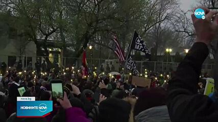 Трета вечер на протести в Минеаполис