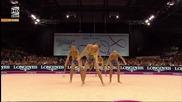Сребърен медал за България в многобоя - Световно първенство по художествена гимнастика