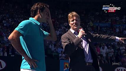 Roger Federer (2) V Benoit Paire - Australian Open 2013 R1.mp4