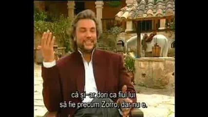 Osvaldo Rios - Интервю (Zorro La Espada Y La Rosa)